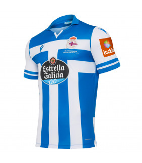 Maillot Macron Domicile Real Club Deportivo La Corogne Officiel Football