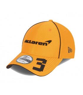 Casquette McLaren Daniel Ricciardo 9FIFTY F1 Team Officiel Formule 1 Racing Orange