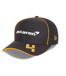 Casquette McLaren Lando NORRIS 9FIFTY F1 Team Officiel Formule 1 Racing Noir