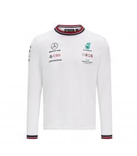 T-Shirt Manche longue Mercedes AMG Petronas Motorsport Team F1 Formula Driver