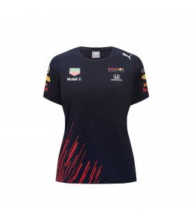 T-shirt Femme Aston Martin Racing Formula Team RedBull Officiel F1