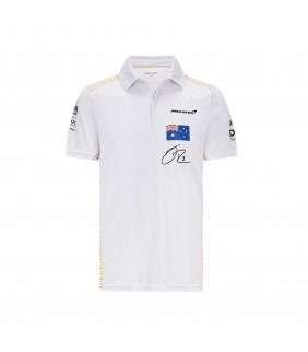Polo Homme McLaren Daniel RICCIARDO F1 Team Officiel Formule 1 Racing