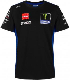 T-shirt Homme Yamaha M1 Monster Energy Officiel MotoGP VR46
