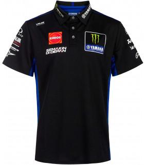 Polo Homme Yamaha M1 Monster Energy Officiel MotoGP VR46