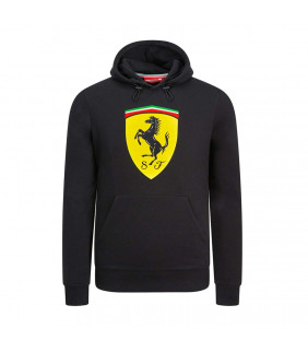 Sweat a capuche Ferrari Scuderia Team Officiel logo F1