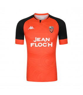 Maillot Kappa Domicile Fc Lorient Kombat Officiel Football