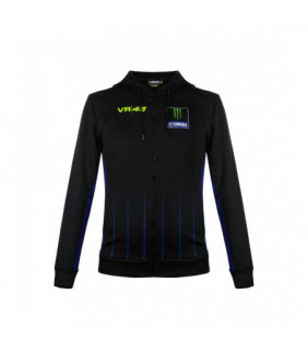 Sweat à Capuche Zip VR46 M1 Yamaha Monster Energy Valentino Rossi MotoGP