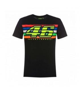 T-shirt classic stripes VR46 Valentino Rossi MotoGP