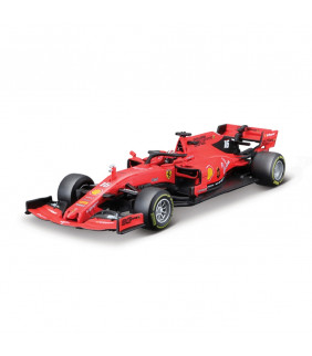 Voiture 1/18 SF90 Bburago Scuderia Ferrari Charles Leclerc 16 F1 Officiel Formule 1