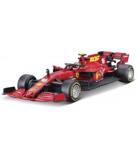 Voiture 1/43 Limited SF1000 TUSCANY GP Bburago Scuderia Ferrari Charles Leclerc 16 F1 Officiel Formule 1