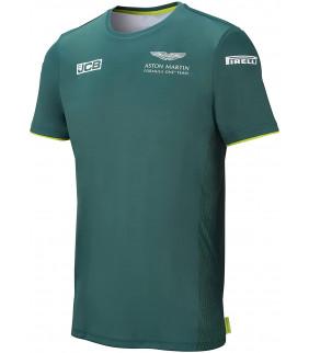 T-shirt Aston Martin F1 Racing Team Officiel F1