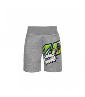 Short VR46 POP ART Enfant Valentino Rossi MotoGP