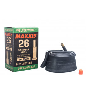 Chambre à air Maxxis Vélo WELTER WEIGHT - 26x1.5/2.5 - Schrader