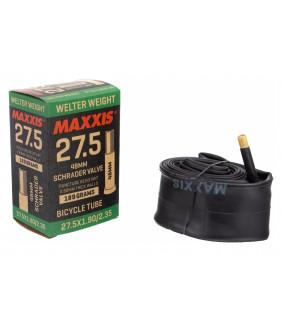 Chambre à air Maxxis Vélo FAT/PLUS 1.5mm - 27.5x2.5/3.0 - Schrader **PLUS DISPO APRES EPUISEMENT**