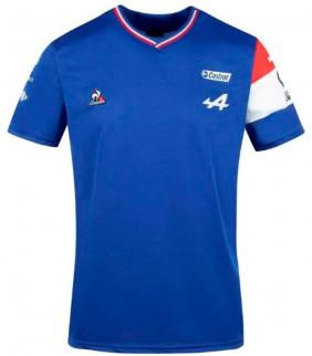 T-shirt Alpine Renault F1 Team Fernando Alonso 14 Racing Officiel F1