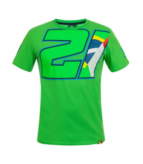 Tshirt Logo 21 Franco Morbidelli Officiel MotoGP