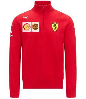 Sweat Zip Ferrari Scuderia Team Officiel F1 Officiel Formule 1