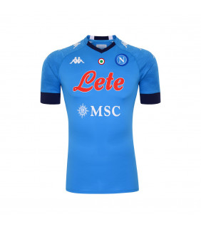 Maillot Homme Kappa Kombat Pro Domicile Napoli Ssc Officiel Football