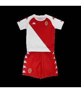 Maillot Kappa Enfant Kombat Domicile As Monaco Officiel Football
