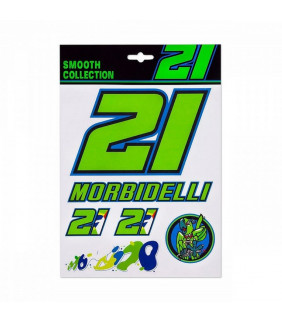 Planche de sticker Franco Morbidelli 21 Officiel MotoGP