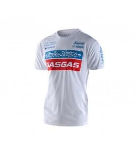 T-shirt Troy Lee Designs GasGas Racing Team Officiel Motocross
