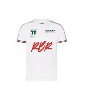 T-shirt Homme Sergio Perez Aston Martin Racing Formula Team RedBull Officiel F1