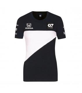T-shirt Femme Alpha Tauri Racing Team Officiel F1