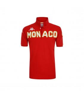Polo Homme Kappa Eroi Polo AS Monaco Officiel Football