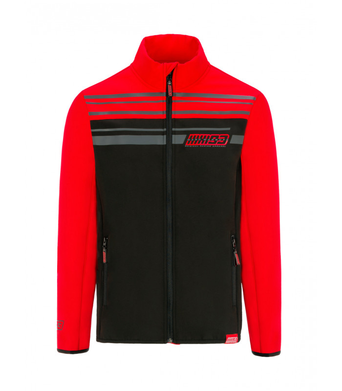 Veste Softshell Zip MM93 Team Yoke Bicolor Officiel MotoGP