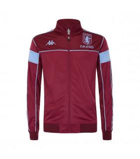 Sweat-shirt Zip Homme Kappa Merez slim Aston Villa Fc Officiel Football