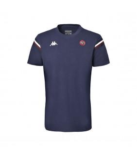 T-shirt Homme Rugby Fiori Union Bordeaux Bègles Ubb Officiel Rugby