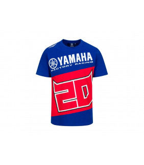 T-Shirt Yamaha Factory Fabio Quartararo 21 El Diablo Officiel MotoGP