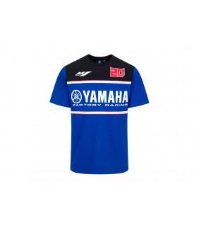 T-Shirt Yamaha Factory Dual Fabio Quartararo 21 El Diablo Officiel MotoGP