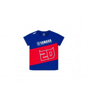 T-Shirt Enfant Yamaha Factory Fabio Quartararo 21 El Diablo Officiel MotoGP