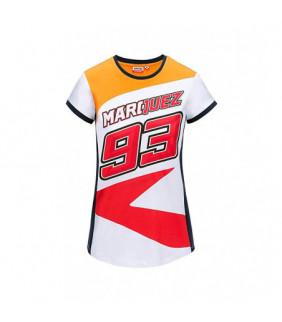 Tshirt Repsol MM93 Officiel MotoGP Générique Marc Marquez MotoGP Femme