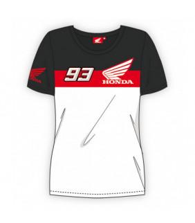 Tshirt Honda Dual MM93 MotoGP Officiel MotoGP Femme Marc Marquez