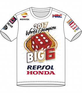 Tshirt Big 6 MM93 Officiel MotoGP Marc Marquez
