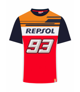 T-shirt Repsol Dual MM93 Officiel MotoGP - Big 93 Marc Marquez