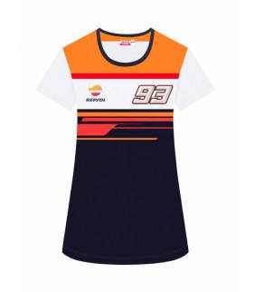 T-shirt Repsol Dual MM93 Officiel MotoGP - Femme Marc Marquez