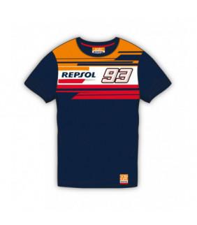 T-shirt Repsol Dual MM93 Officiel MotoGP - Enfant Marc Marquez